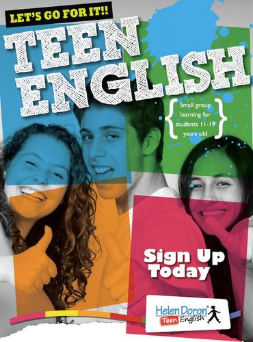 Teen English Poster