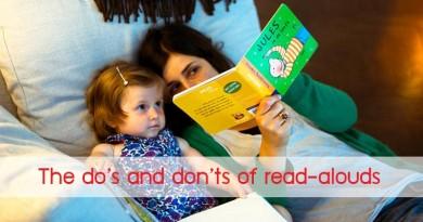 สิ่งที่ควรทำ และ ไม่ควรทำ เมื่ออ่านหนังสือให้เด็กๆ ฟัง